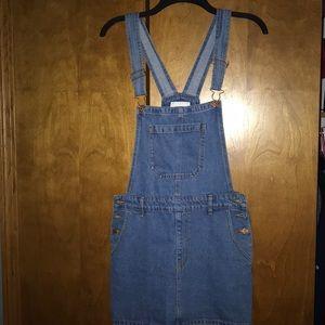 Forever21 Overall Denim Dress